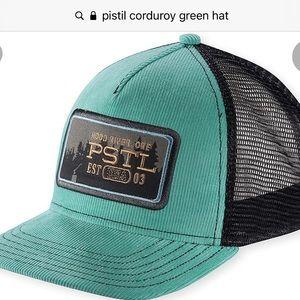Pistil Chet trucker hat. NWOT. Never worn.